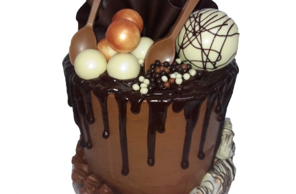 Chocolate Drip Cake Craft
