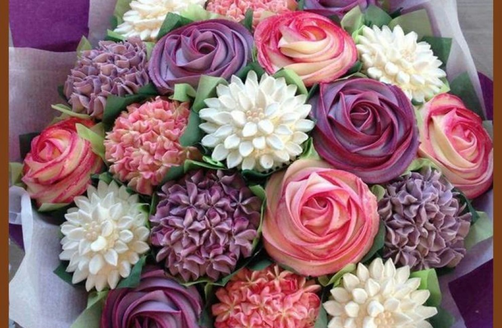 Cupcake Bouquet course
