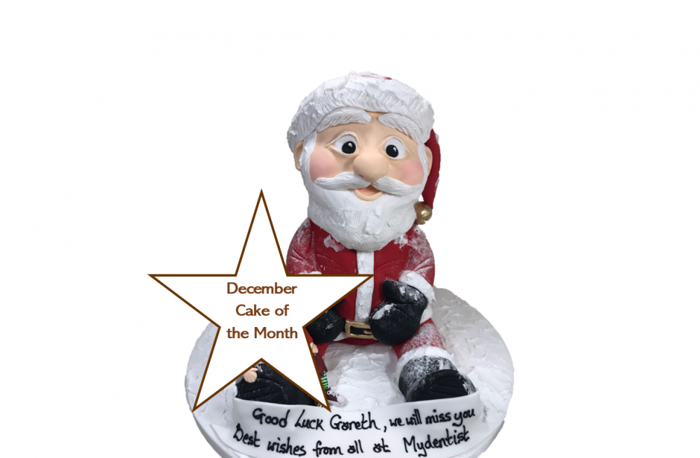 December - Father Christmas Full Figure