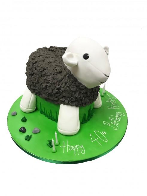 Prime Sheep Birthday Cake Funny Birthday Cards Online Benoljebrpdamsfinfo
