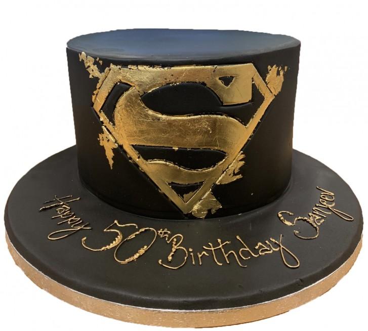 Amazing Superman Birthday Cake Funny Birthday Cards Online Necthendildamsfinfo