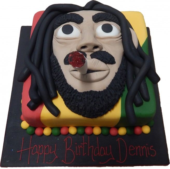 Fantastic Bob Marley Personalised Birthday Cards Veneteletsinfo