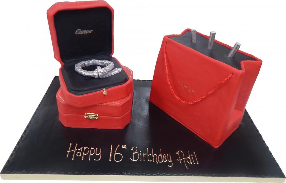 Cartier Bag Jewelry Box Birthday Celebration Female Girls