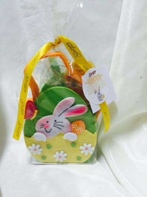 Children s easter bunny treat bag