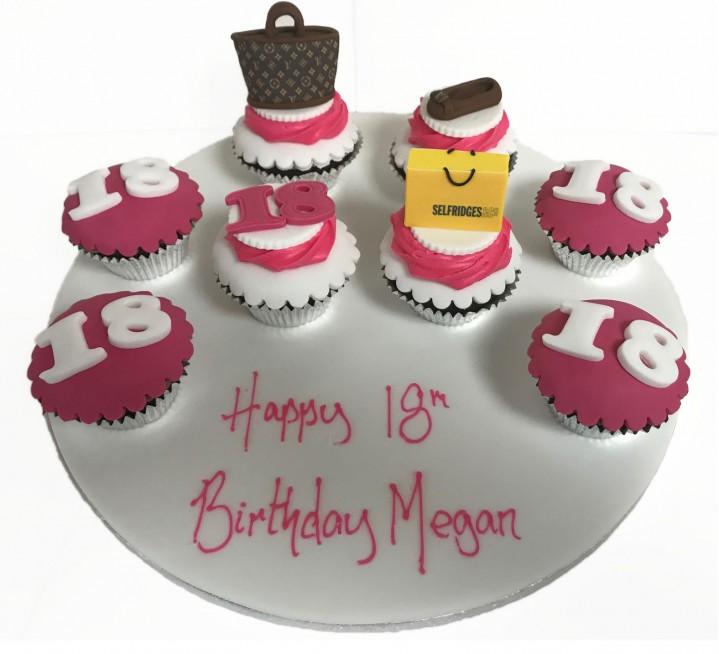 Designer Birthday Cupcakes