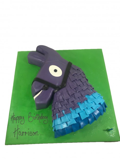 Fortnite Llama Cake