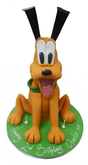 Tremendous Pluto Full Figure Birthday Cake Funny Birthday Cards Online Amentibdeldamsfinfo