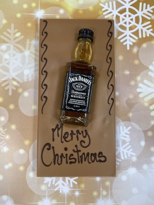 Jack Daniels Christmas Chocolate Bar