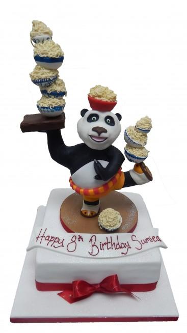 Enjoyable Kung Fu Panda Birthday Cake Funny Birthday Cards Online Alyptdamsfinfo