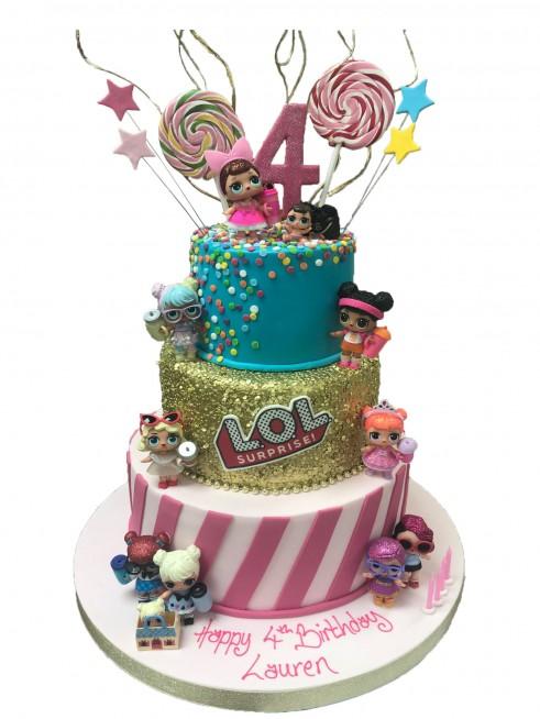 Lol Doll Birthday Cake
