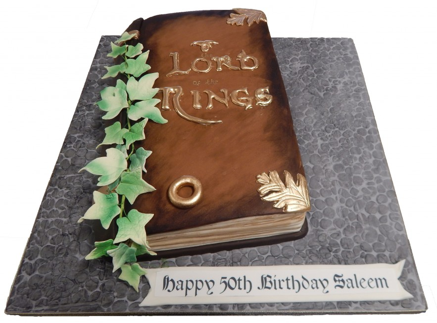 Amazing Lord Of The Rings Book Birthday Cards Printable Giouspongecafe Filternl