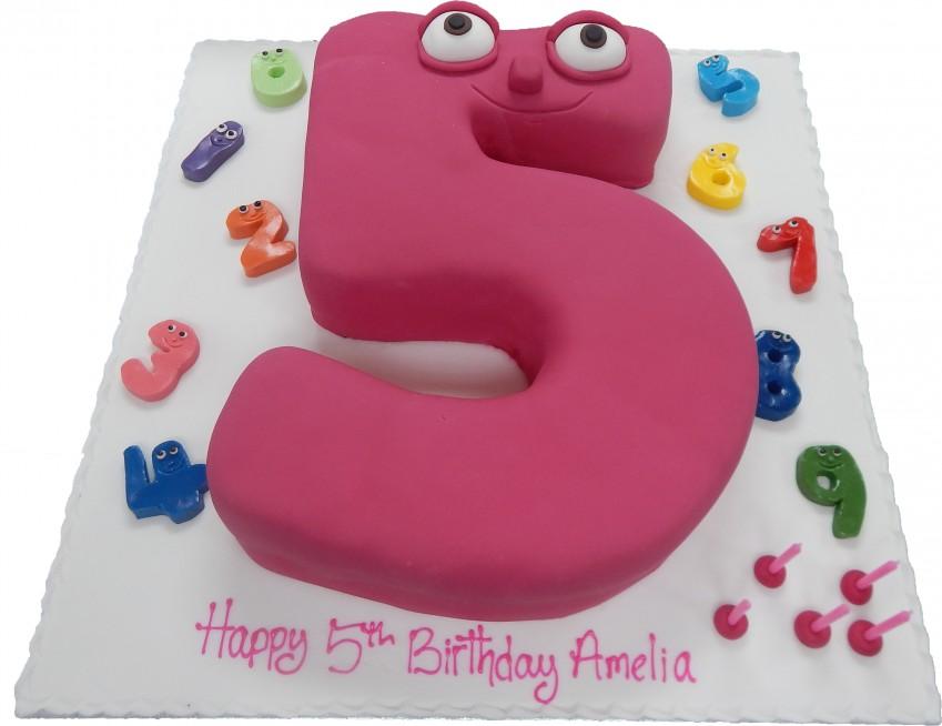 Number Jacks Single Figure – Numberjacks Birthday Card