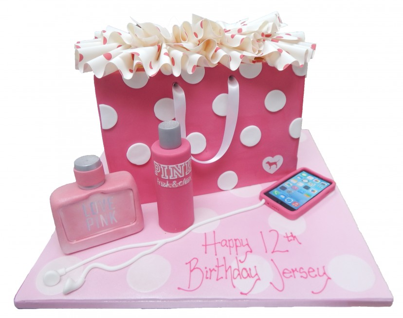 ff71daf870257 Pink Shopping Bag & Extras