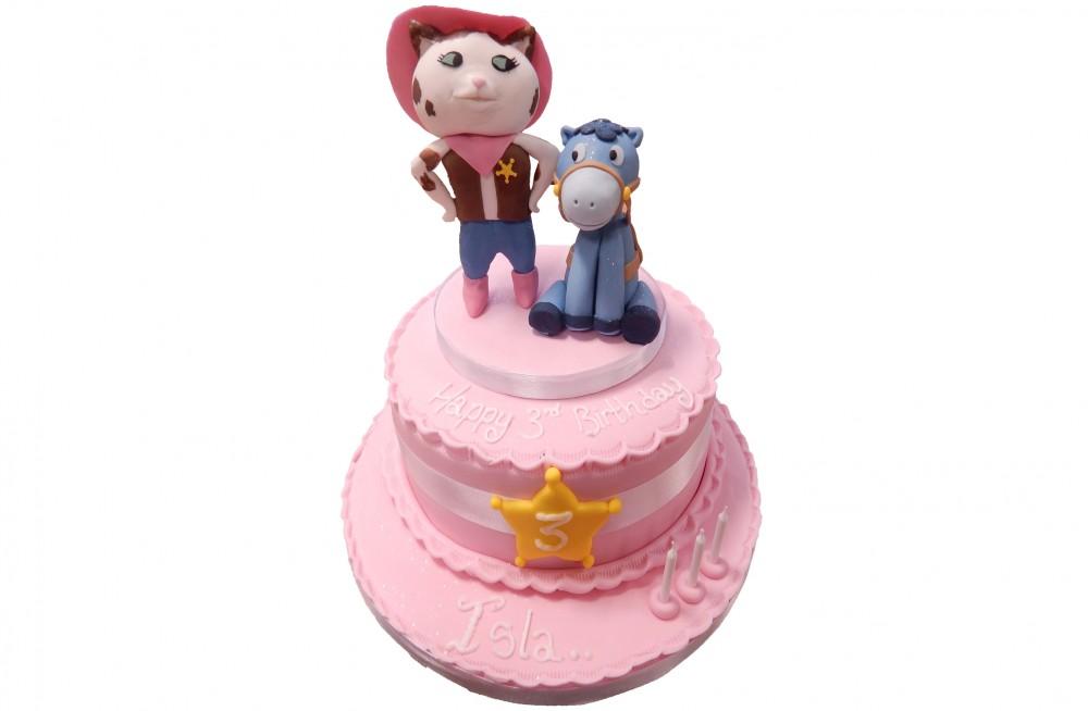 Sheriff Callie S Wild West Cake