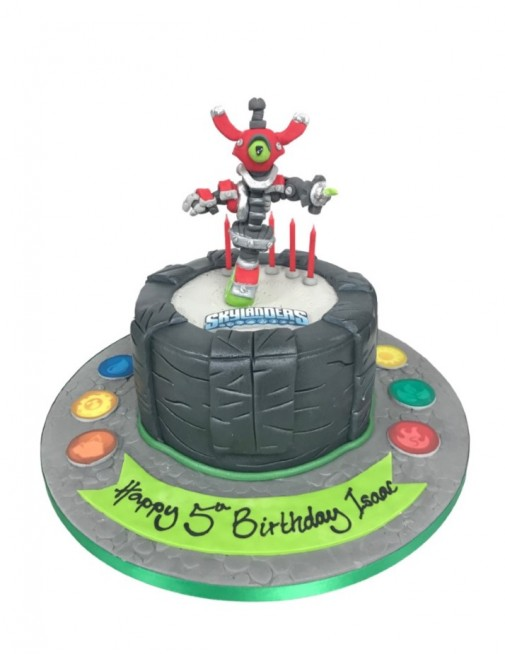 Peachy Skylanders Birthday Cake Funny Birthday Cards Online Inifofree Goldxyz
