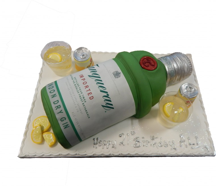 Tanqueray Gin Birthday Celebration Male Female Alcohol