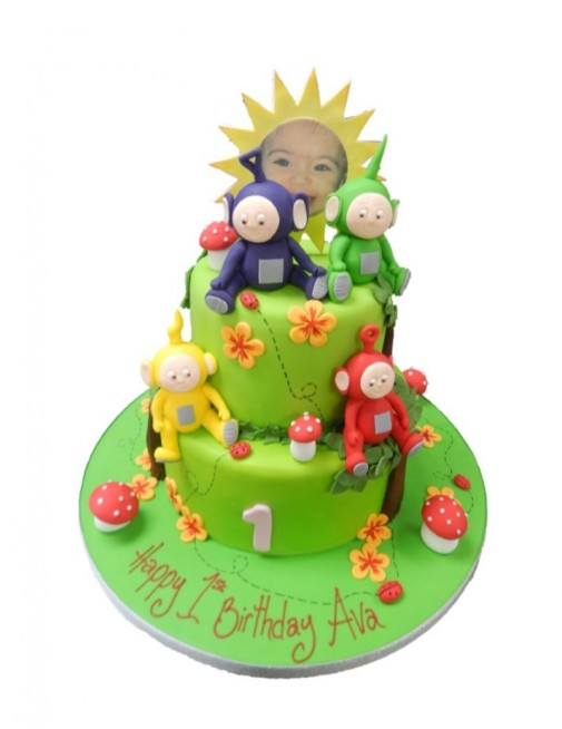 Teletubbies Teletubby Tiered 3 Tier Unisex Cartoon