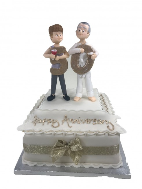 Wedding Anniversary Cake Figures