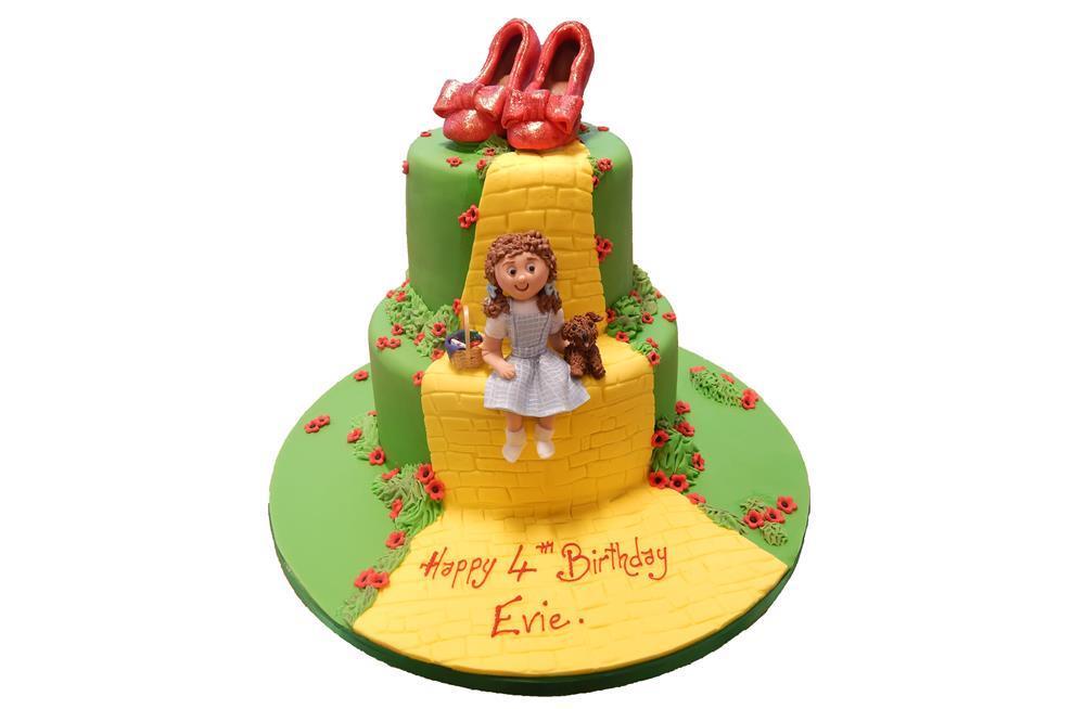 Marvelous Wizard Of Oz Birthday Cake Funny Birthday Cards Online Bapapcheapnameinfo