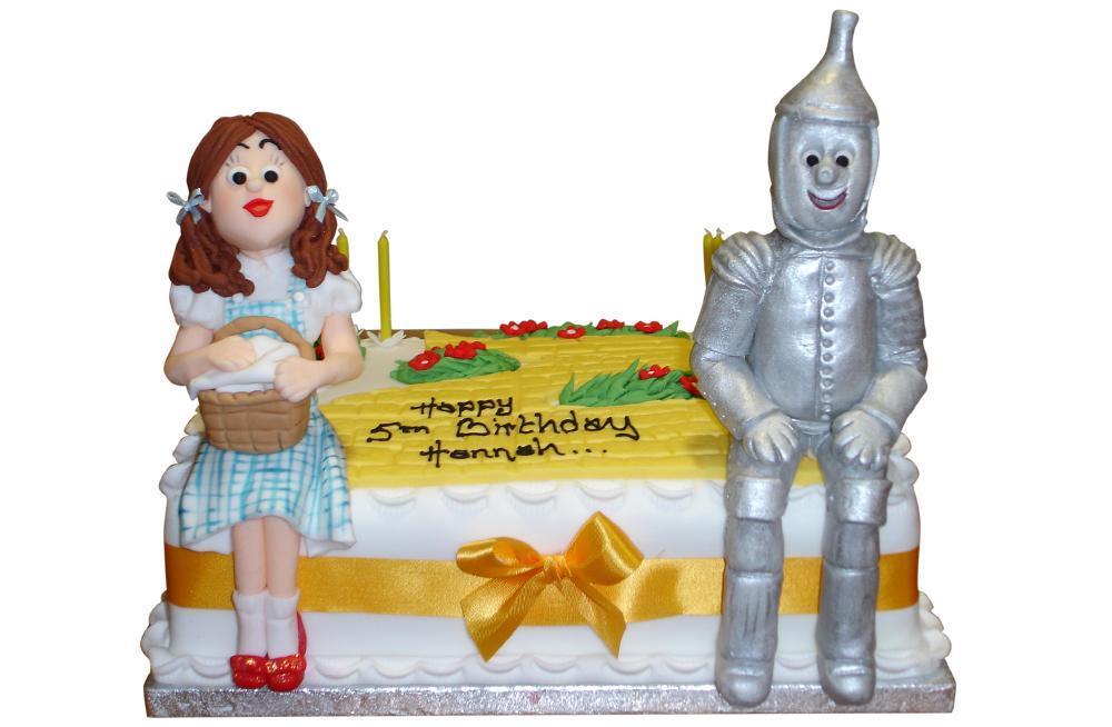 Outstanding Wizard Of Oz Birthday Cake Funny Birthday Cards Online Bapapcheapnameinfo