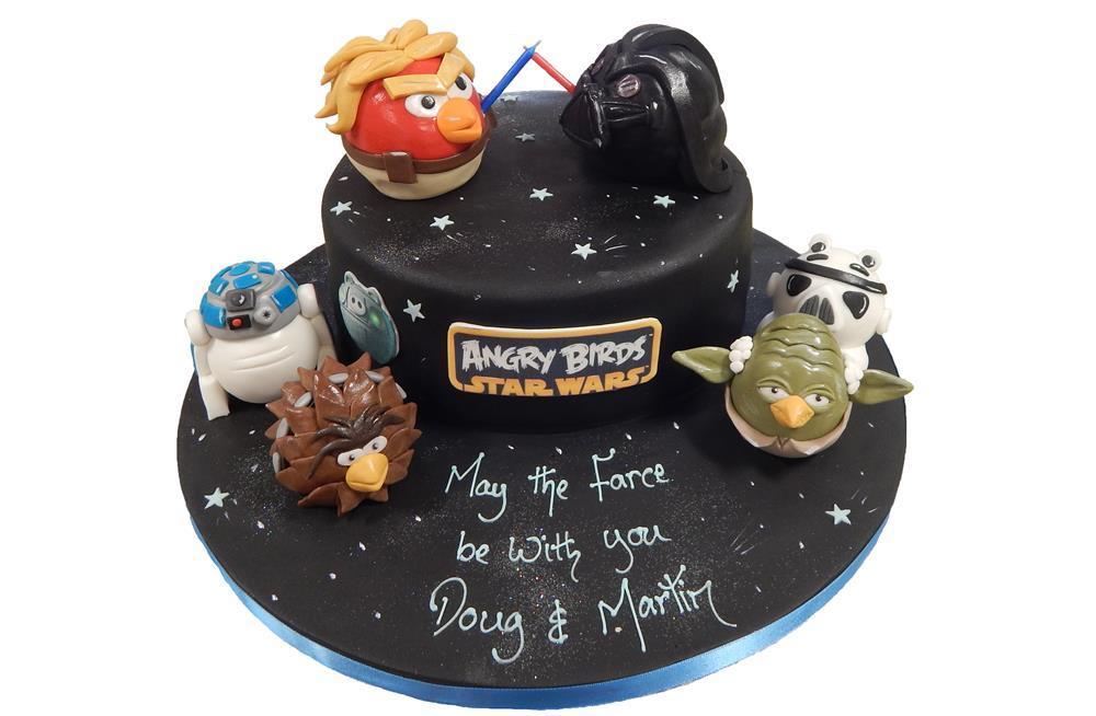 Angry Birds Star Wars Cake Ideas