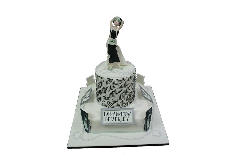 Cake Art Casting Gel Uk : 1920s Themed Cupcakes