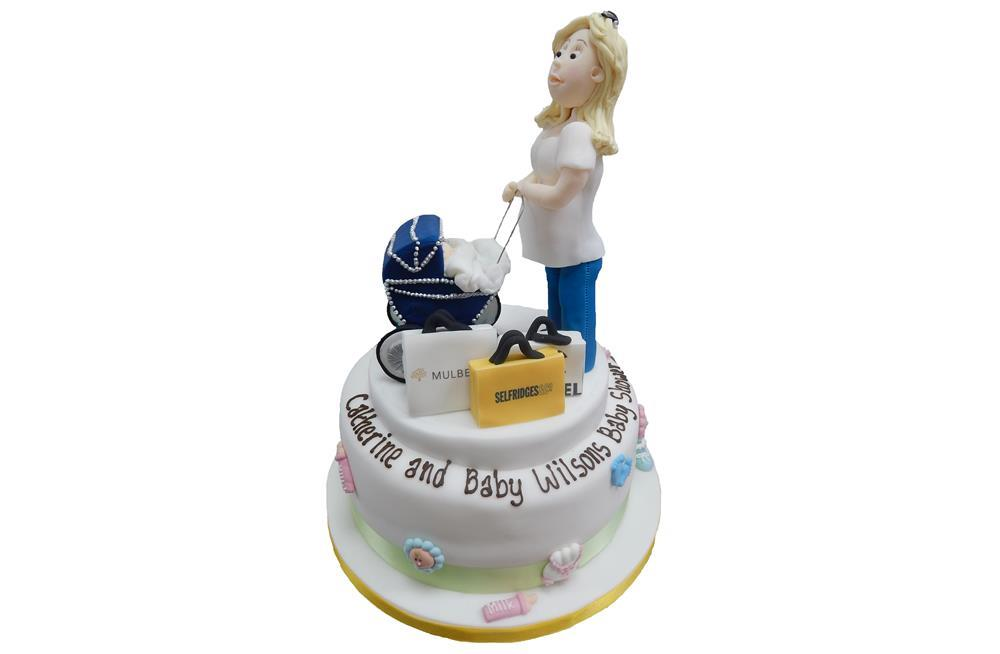 Baby Shower Cakes Delivered Uk ~ Baby shower cakes