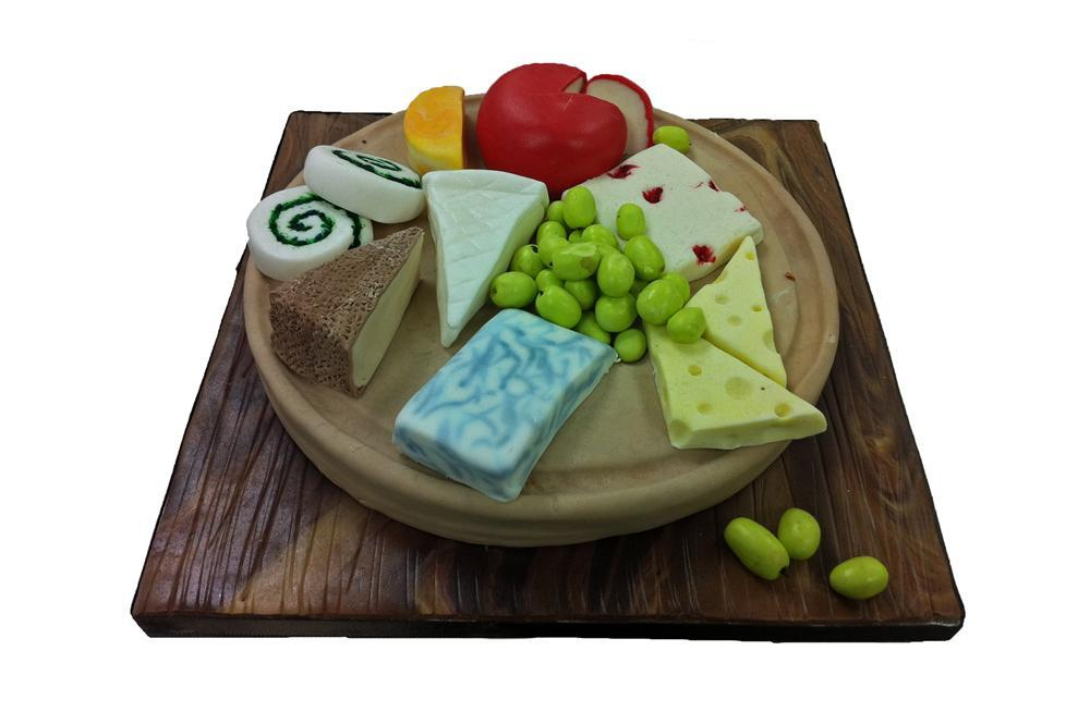 Fantastic Cheese Board Birthday Cake Funny Birthday Cards Online Amentibdeldamsfinfo