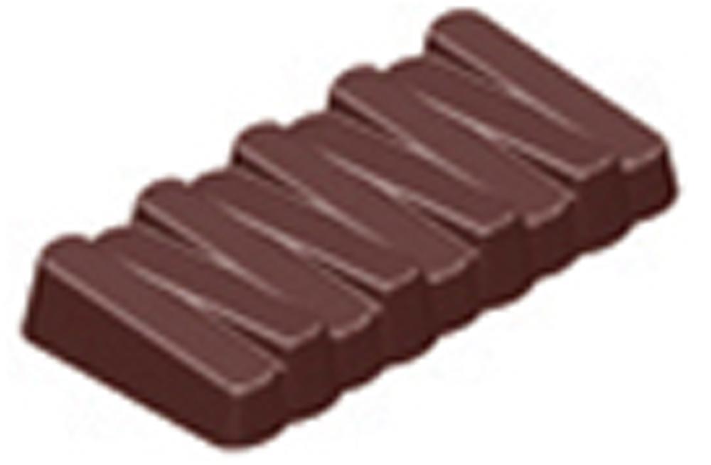 Chocolate Zig-Zag Bar Hard Plastic Mould