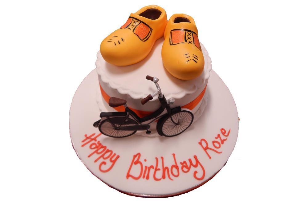 Clogs Dutch Bike Cake