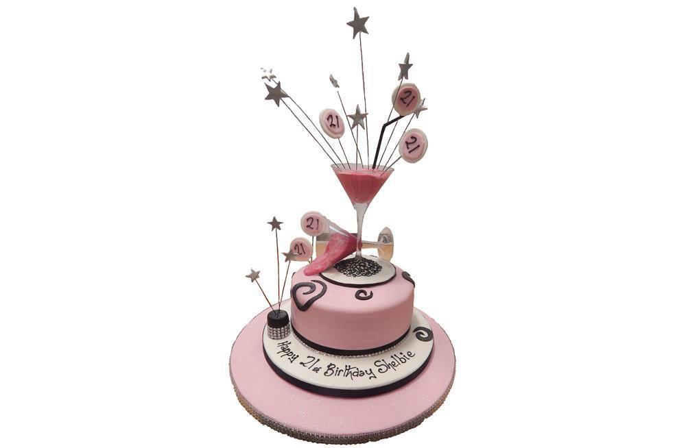 Awesome Cocktail Glasses Cake Funny Birthday Cards Online Benoljebrpdamsfinfo