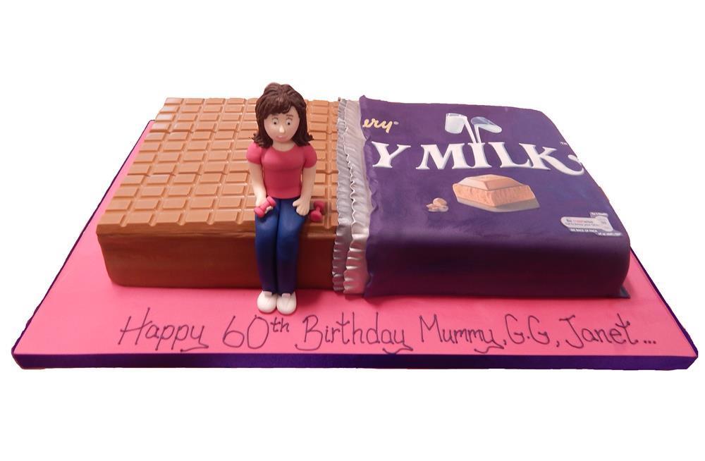 Kitt Kat Chunky birthday cake