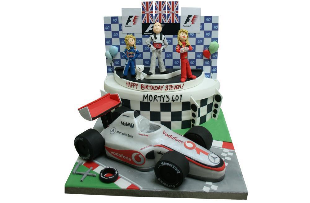 Formula One Podium