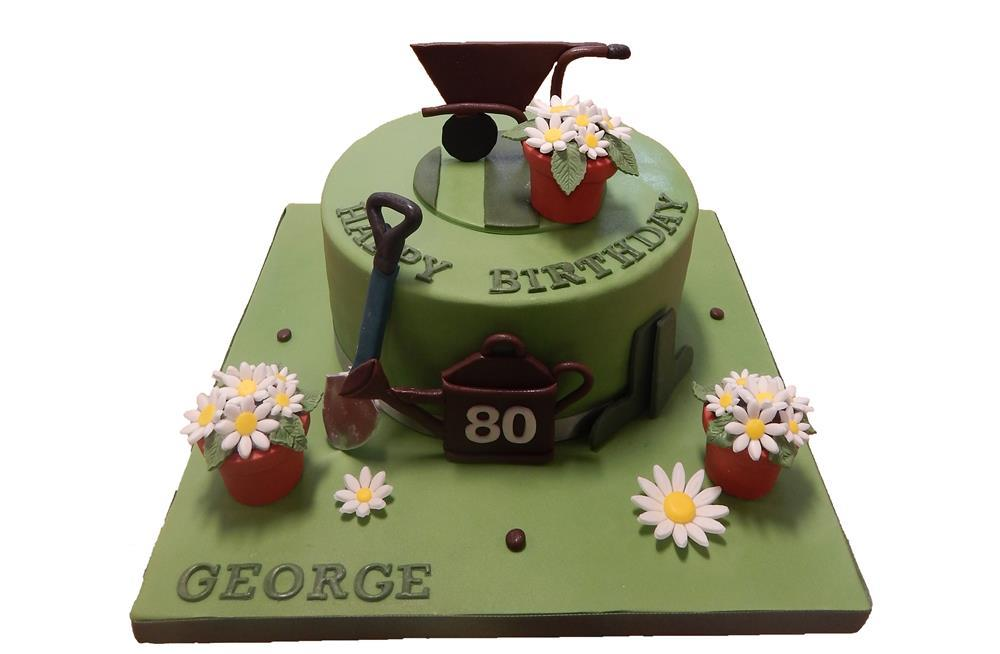 Barbecue & Garden Cake