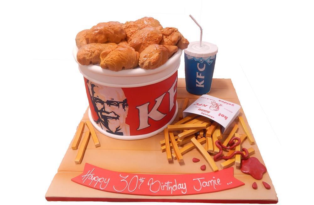 Kfc Birthday Cake