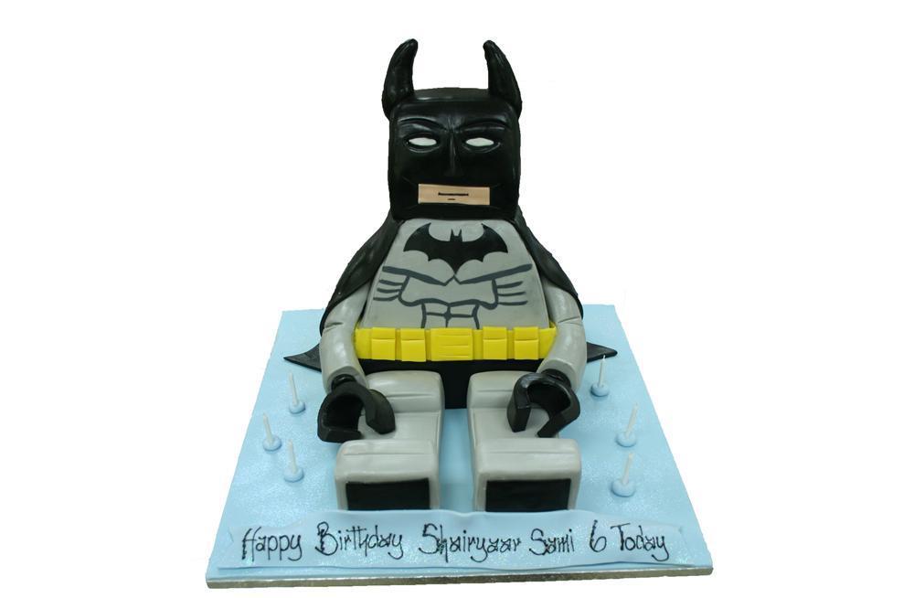 Admirable Lego Batman Birthday Cake Personalised Birthday Cards Akebfashionlily Jamesorg