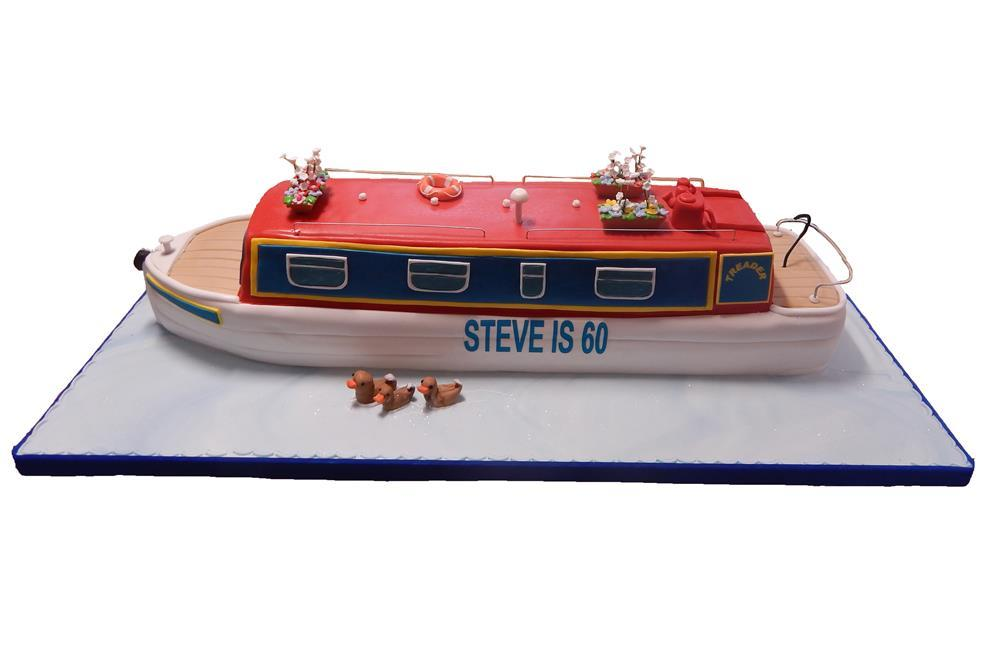 how to make a boat cake