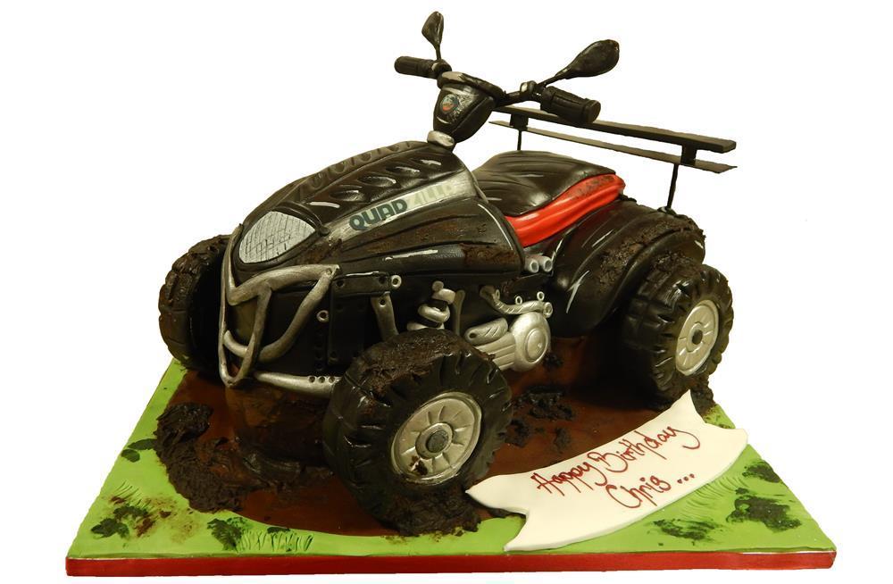Quad Bike Birthday Cake