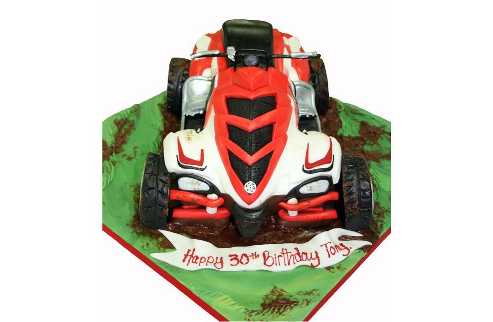 Quad Bike birthday cak...