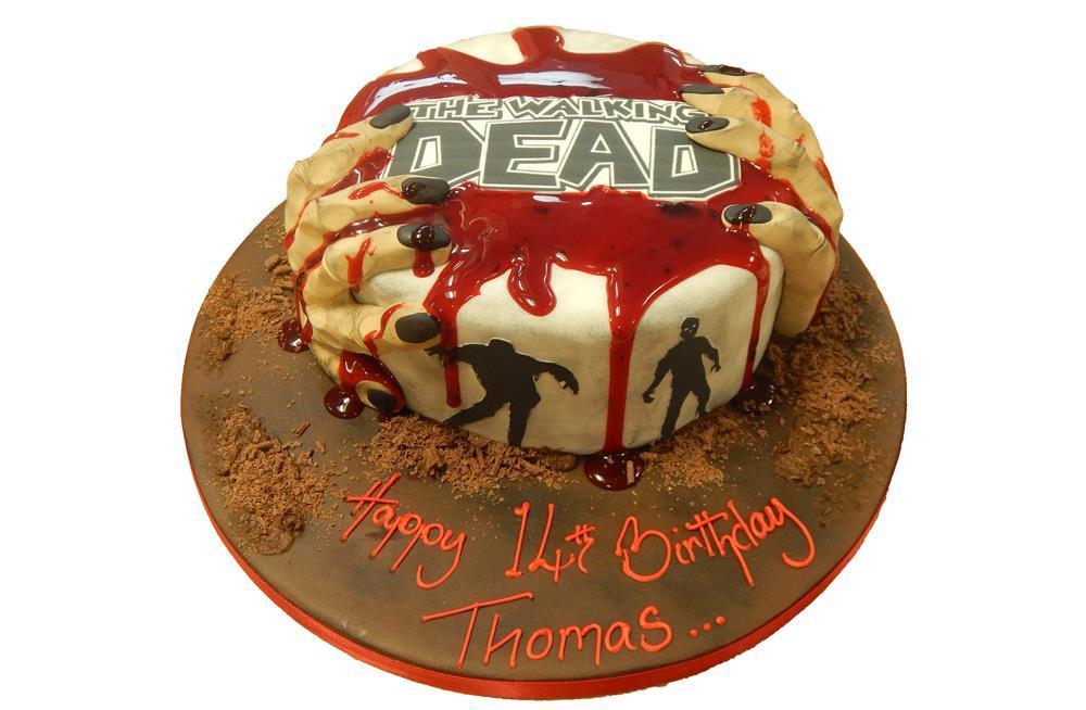 Excellent The Walking Dead Funny Birthday Cards Online Alyptdamsfinfo