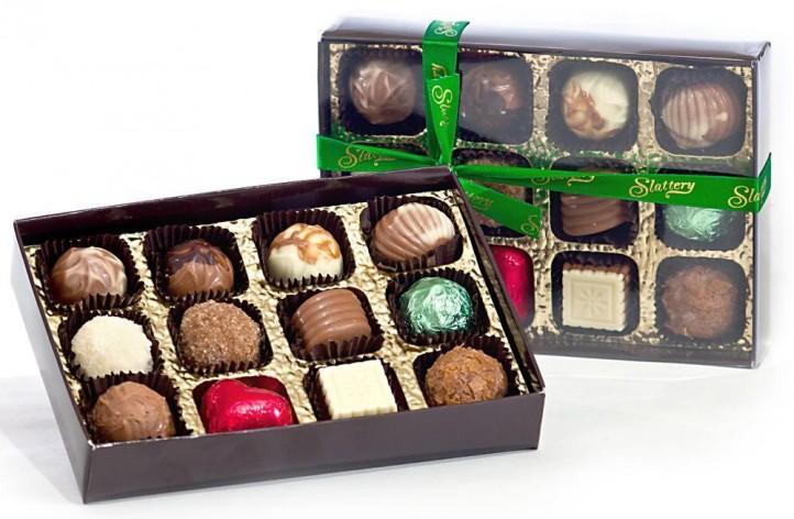 12 Chocolate Box