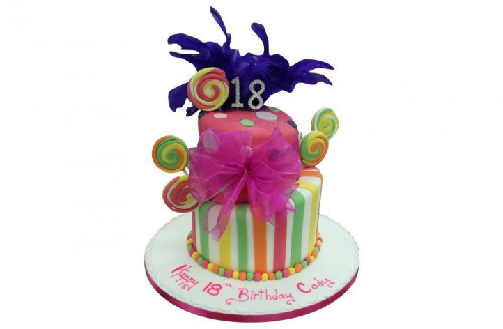 2 Tiered Colourful Tier Topsy Turvy