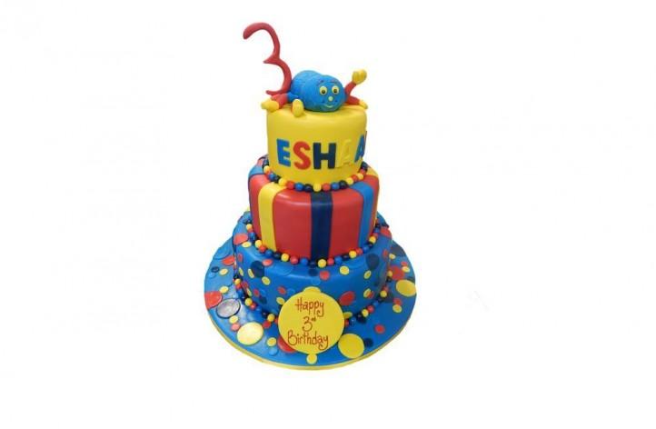 3 Tier Spider Cake