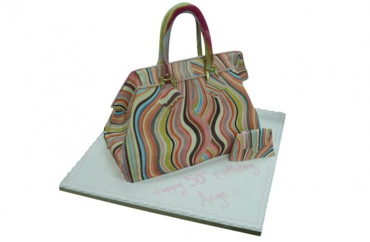 70's Print Handbag