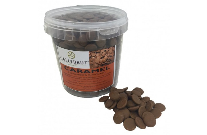 Barry Callebaut Caramel Chocolate Callets 900g