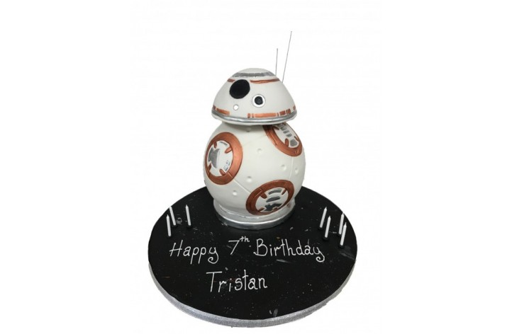 BB8 Full Figure Cake - Star Wars