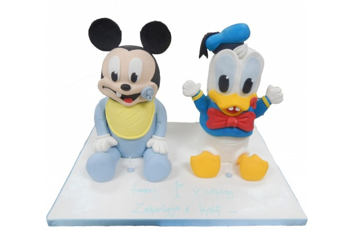 Baby Mickey & Donald Duck
