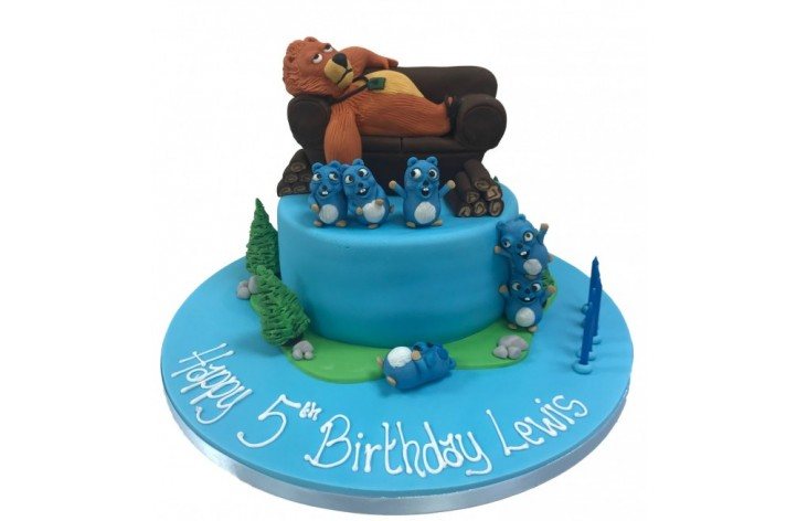 Bear and Squirrel Cake