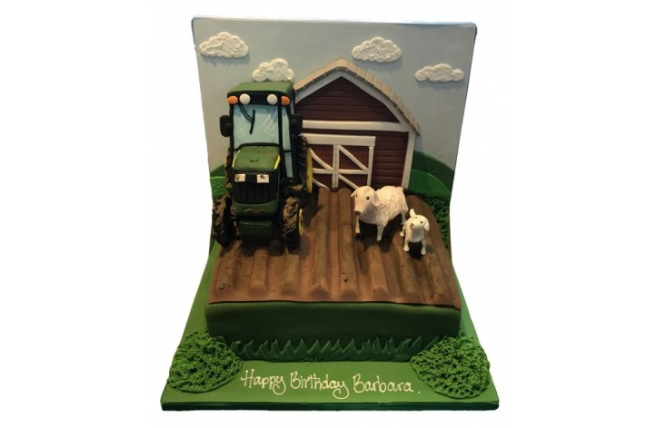 Barn and Farm Cake