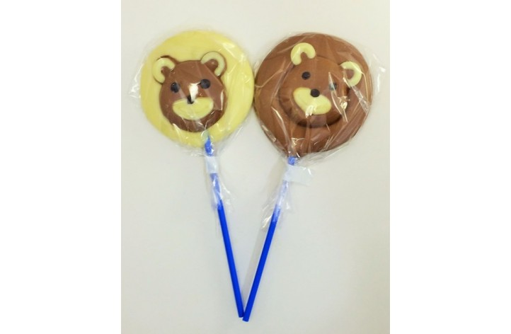 Bear chocolate lolly